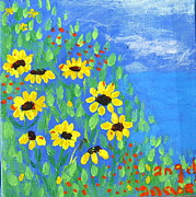 Angela Annas - Black Eyed Susans on a...