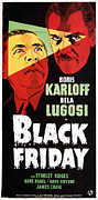 Lugosi Photos - Black Friday, Bela Lugosi, Boris by Everett