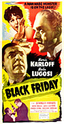 Horror Movies Photos - Black Friday, Top Left Anne Nagel Top by Everett