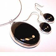 Jewelry Sets Jewelry - Black from the Satiro collection by Kelly DuPrat