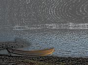 Etc. Digital Art Originals - Black Harbour NB by Roger Charlebois