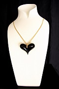 Moda Jewelry - Black Heart  by Emanuele Rubini