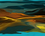 Landscape - Black Hills Abstract by David Lane