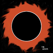 Soundgarden Posters - Black Hole Sun Poster by Thomas Bryant