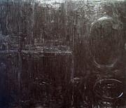 Black Interior  Print by Kazuya Akimoto