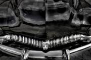 Antique Automobiles Photos - Black by Jerry Golab
