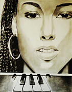 Rnb Art - Black N White Keyz by Saheed Fawehinmi