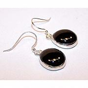 Handcrafted Jewelry - Black Nuggets by Kelly DuPrat