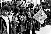 1960s Art - Black Panther Party Members Show by Everett