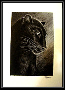 Black Panther Print by Priyanka Ray