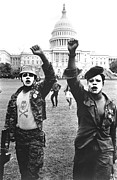 Panthers Prints - Black Panthers In Washington, Dc, 1967 Print by Everett