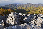 Scenic Drive Photo Posters - Black Rock Mountain Shenandoah National Park Poster by Pierre Leclerc