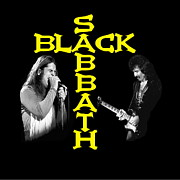 Black Sabbath Posters - Black Sabbath Poster by Ben Upham
