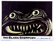 1957 Movies Photo Prints - Black Scorpion, The, 1957 Print by Everett