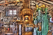 Perfect Metal Prints - Black Smith - The Blacksmith shop Metal Print by Mike Savad