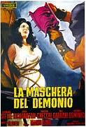 Italian Cinema Posters - Black Sunday, Aka La Maschera Del Poster by Everett