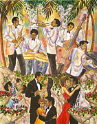 Formal Piano Posters - Black Tie Affair Poster by Frank Sowells Jr