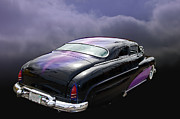 Mercury Hot Rod Photos - Black Widow by Bill Dutting