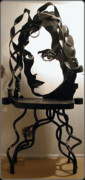 Dallas Sculptures - Black Widow by Robert Sadlemire