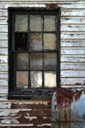 Subtle Colors Art - Black Window by Murray Bloom