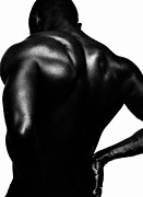 Male Nude Art Photos - Blackback by Sergio Bondioni