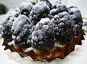 Renee Trenholm Posters - Blackberry Tart Poster by Renee Trenholm