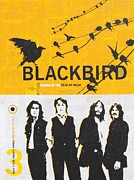 Paul Mccartney Mixed Media Originals - Blackbird by Shani Goss