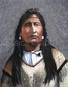Plains Pastels Originals - Blackfoot by Jessica  Crabtree
