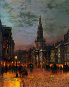 Streets Metal Prints - Blackman Street London 1885 Metal Print by Stefan Kuhn