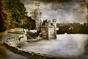 Rock Digital Art Originals - Blackrock Castle  by Andrzej  Szczerski
