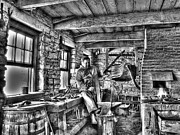 Farrier Framed Prints - Blacksmith Framed Print by Jimmy Ostgard
