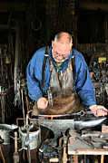 Smithy Photos - Blacksmith by Kristin Elmquist