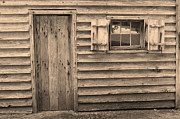 Wooden Building Posters - Blacksmith Shop Poster by Suzanne Gaff