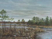 Edward Williams Art - Blackwater National Wildlife Refuge by Edward Williams