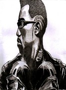 Icon Drawings Posters - Blade Poster by Ralph Harlow