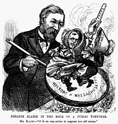 Debate Posters - Blaine Cartoon, 1878 Poster by Granger