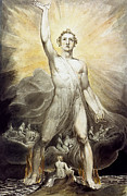 William Blake Prints - Blake: Angel Of Revelation Print by Granger