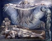 William Blake Art - Blake: House Of Death, 1795 by Granger