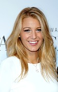 Blake Prints - Blake Lively At Arrivals For Swarovski Print by Everett