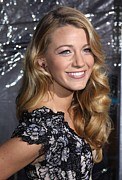 Are Posters - Blake Lively At Arrivals For Where The Poster by Everett