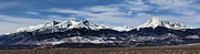 Landscape Posters Originals - Blanca Mountains near Fort Garland Colorado by Jon Burch Photography