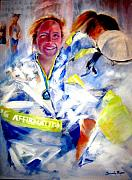 Marathon Painting Originals - Blanketed in Pride by Sandy Ryan