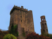 Republic Mixed Media Posters - Blarney Castle Poster by Jerry L Barrett