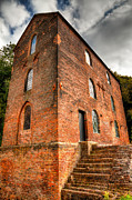 Industrial Photos - Blast Furnaces 1830s by Adrian Evans