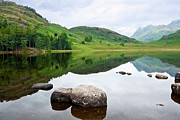 Sca Prints - Blea Tarn Print by David Wilkins