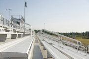 Soccer Sport Prints - Bleachers Print by Roberto Westbrook