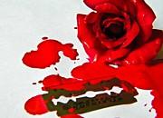 Bleed Print by Prashant Ambastha