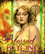 Ziegfeld Girl Prints - Blessed Beyond Measure Print by Lynell Withers