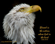 Blessed Is The Nation Print by Grace Dillon