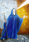Solomon Paintings - Blessed by Pauline Ross